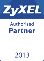 Zyxel Partnerlogo authorised 2013